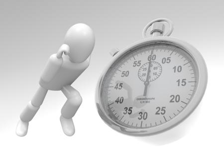 時間制限を設けることで仕事を速く処理する