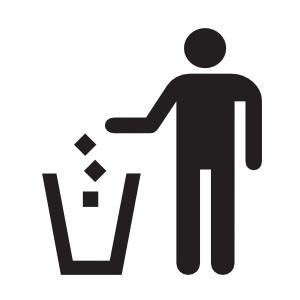 家に物が多い理由→無くていい物でも捨てないから